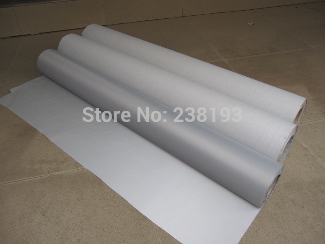 Width 1mX5m Gray Color Night Reflective Fabric, Traffic Safety Warning Cloth,  Safety  Reflective Material.fluorescent Screen.