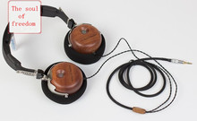 40MM Solid wood fever headset