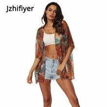 blouses women beach cardigan chiffon fabric womens tops and blouses kimono shirt blusas camisa one size blusa feminina