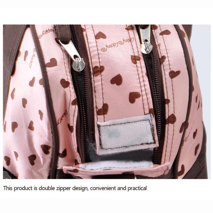 Купить с кэшбэком insular Multifunctional Diaper Bags Maternity Mummy Handbag Baby Care Stroller Bag High capacity Mother Messenger Nappy Bags