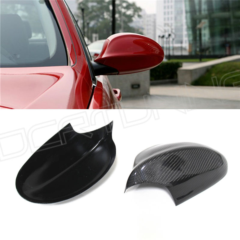 For BMW E90 3 Series 2005 2006 2007 2008 Add On Style Carbon Fiber Side Mirror carbon fiber side mirror cover caps overlay for 2005 2006 2007 2008 bmw e90 e91 3 series