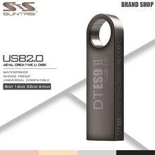 Suntrsi Pendrive Stick USB de Alta Velocidad de Metal USB Flash Drive Flash de 64 GB de la Capacidad Verdadera Pen Drive Personalizado Unidad Flash USB Flash