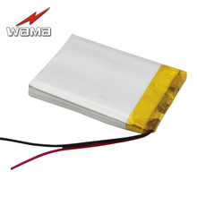 30pcs/lot WAMA 553040 3.7V 600mAh Li-polymer Rechargeable Battery Protected PCB for Bluetooth Speakers Medical Devices MP4
