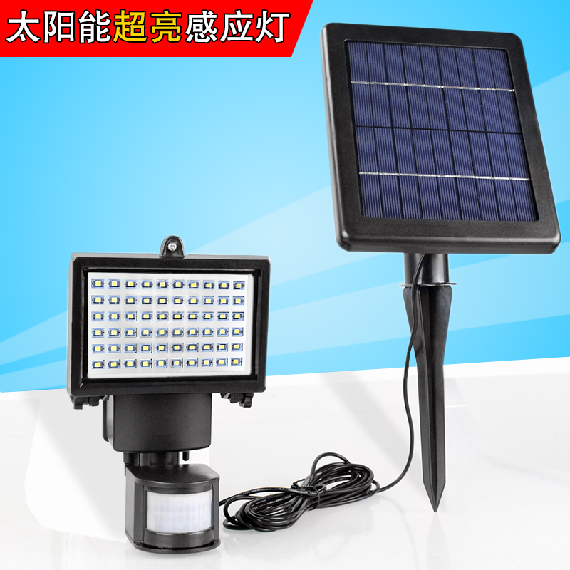 Outdoor Light Solar lights household indoor LED lamp human induction lamp super bright lighting lamp waterproof garden lamp outdoor light solar lighting led super bright household outdoor waterproof courtyard body induction courtyard body sens lamp