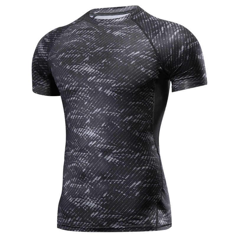 Tinju MMA T Shirt K Berlaku MMA Gym Kaos Pertempuran Seni Bela Diri Kebugaran Latihan Muay Thai T Shirt Pria Homme 4 Warna