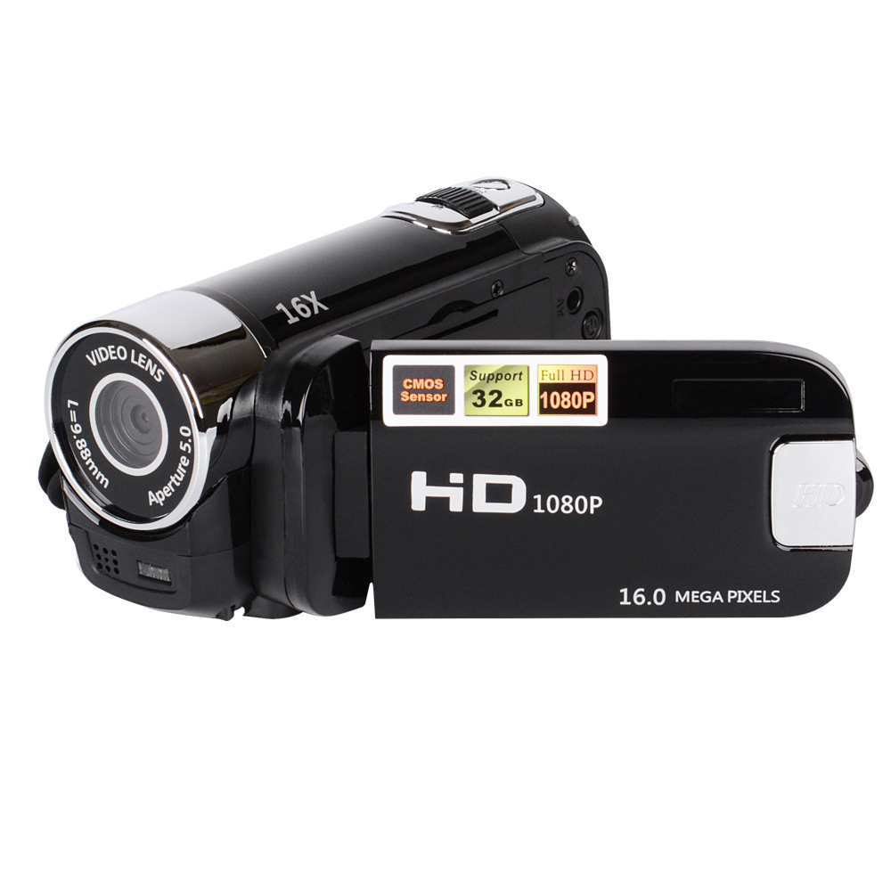 2018 Hot Sale 1080P HD Digital Camera DV DVR TFT LCD 16X Digital Zoom 16MP CMOS Anti Shaking HD Digital Camcorder