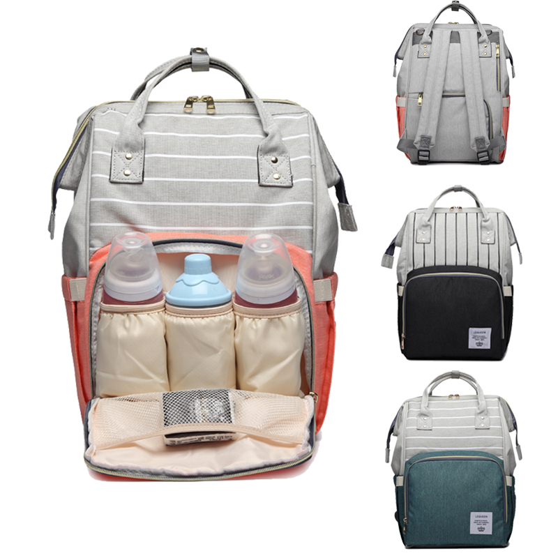 Diaper Bag Backpack For Moms Maternity Bag Multifunction Large Capacity Nappy Bag For Baby Care Baby Stroller Organizer Baby Bag