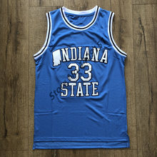 41049304d7b EFKGH 2019 New 33 Larry Bird Indiana State College Basketball Jersey  Stitched S-2XL