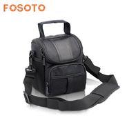 Fosoto DSLR Camera Bag Case For Nikon D3400 D5500 D5300 D5200 D5100 D5000 D3200 For Canon