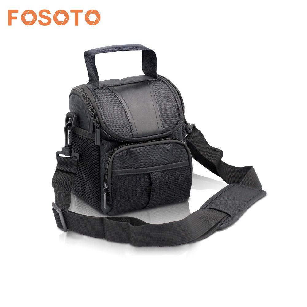 fosoto DSLR Camera Bag Case For Nikon D3400 D5500 D5300 D5200 D5100 D5000 D3200 for Canon EOS 750D 1100D 1200D 700D 600D 550D dslr camera shoulder lens bag for canon eos 1100d 700d 650d 600d 550d nikon p900 d7200 d40 d5300 sony nex a6000 a6300 rx100
