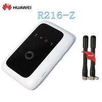 Unlocked 4g router ZTE Vodafone R216 R216 z 4G LTE 150Mbps Mobile Hotspot Pocket router with Antenna PK e5220 e5336 e5330