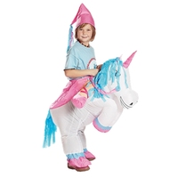 Unicorn Inflatable Costume For Adult Kids Fan Dragon Unicorn Dinosaur Funny Cosplay Inflatable Costume Party Festival