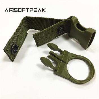 Nylon Molle Webbing Water Bottle Carabiner Belt Backpack Hanger Hook Outdoor Buckle Holder Clasp Tool Clip Hunting Accessories 5