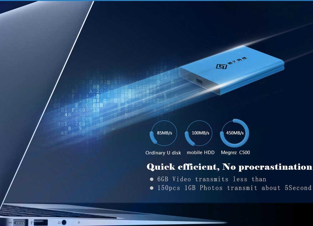 Reeinno SSD 128GB SATA3 Bên Ngoài 2.5inch Loại C 450 MB/giây SMI controler MLC flash Di Động Nội Bộ Rắn đĩa Laptop máy tính để bàn