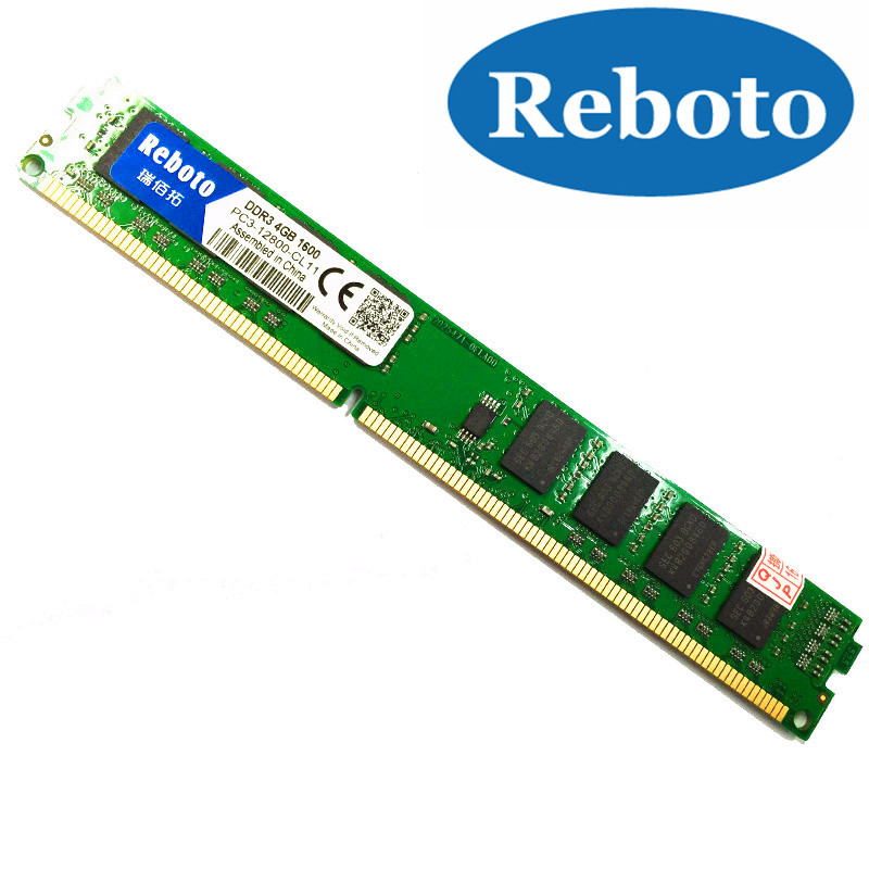 RebotoOriginal DDR3 1066/1333/1600MHZ PC3-10600  2GB/ 4GB / 8GB Desktop RAM Memory for Intel and AMD Fully compatible  цены
