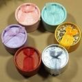 Hermosas Cajas de Regalo Elegante de La Vendimia Colores Mezclados Joyeros Para Anillos y Pendientes de Diámetro 5 cm Ronda Embalaje Regalos esenciales