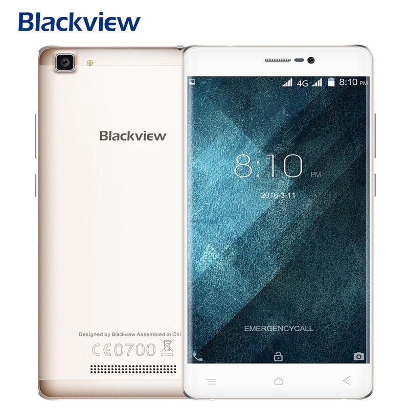 Original blackview a8 max teléfono 5.5 pulgadas de pantalla ips smartphone ram 2