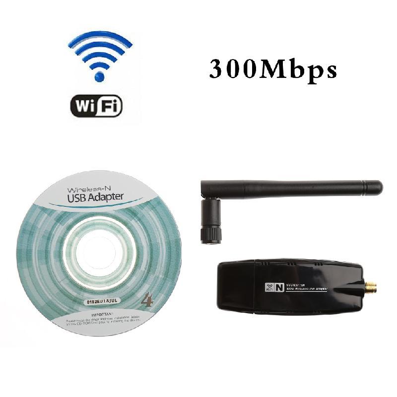 300 м 802.11n/g/b USB сети LAN Dongle Wi-Fi Беспроводной Адаптер Телевизионные антенны 2dBi/5dBi