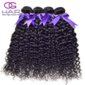Brazilian Curly Hair Weave Bundles 4pcs lot Brazilian Water Wave Virgin Hair 8-28inch OG Hair Brazilian Hair Bundles