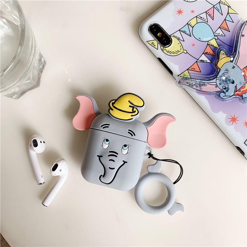Cute Elephant AirPod Case 2