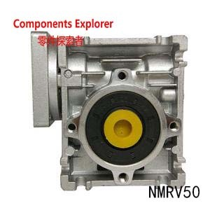 NMRV50 8mm key and 25mm output ratio 10:1 for 35N.m below and suitable to work with NEMA42 Stepper Motor