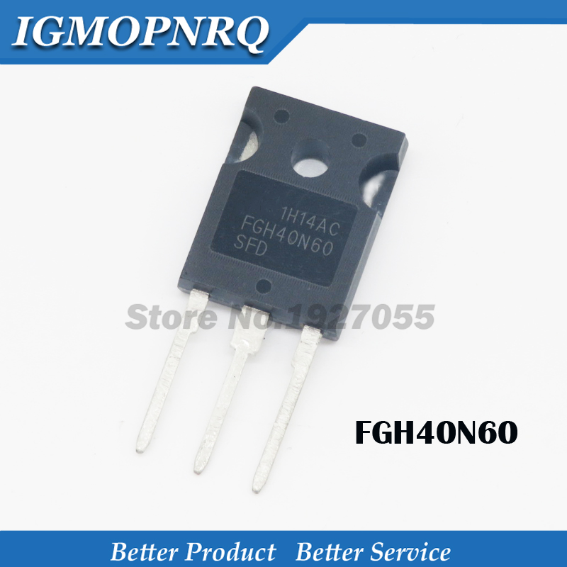 5pcs/FGH40N60SFD  TO 247  FGH40N60 TO 3P 40N60   40N60SFD variable tube IGBT welder new original-in Integrated Circuits from Electronic Components & Supplies