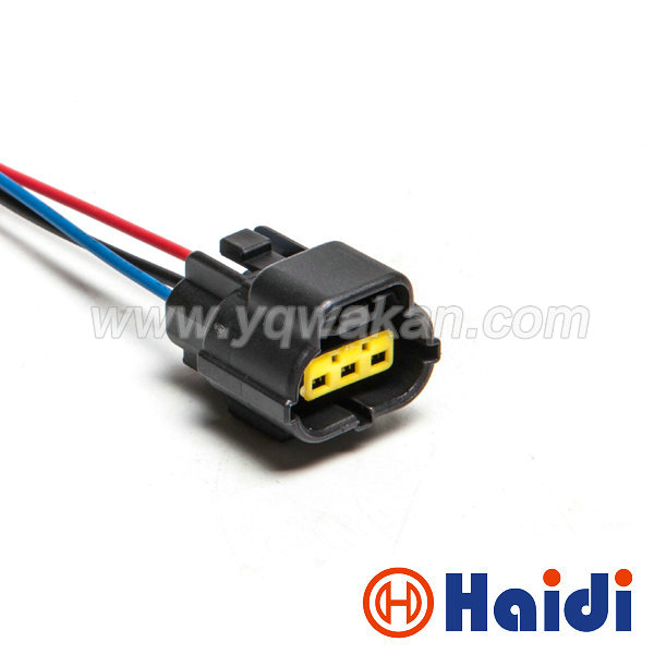 Free shipping 1set Volvo S60 S80 XC60 XC90 camshaft eccentric shaft position sensor wiring harness connector 174357-2 368523-1 цены