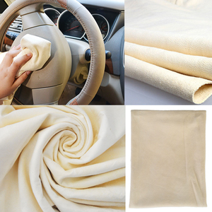 Image 5 - Natuurlijke Zeem Zeem Car Cleaning Handdoeken Drogen Wassen Doek Ca. 30X50 Cm En 45X75 Cm voor Keuze Gratis Vorm