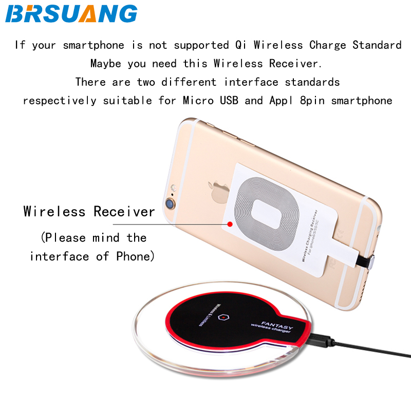 Generous 20pcs/lot Brsuang Mini Desk Qi Wireless Limitless Crysta Pad Charger For Samsung Galaxy S6 7 Edge 8 9 Plus Htc Lg Iphone 8 X