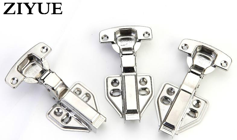 Free Shipping Fixed Stainless Steel Hydraulic D&ing Hinge Door Hinge 1.2mm High-end Closet