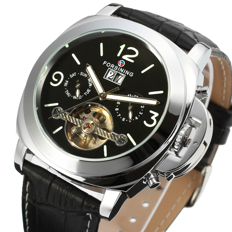 Retro, Mechanical, Sport, Wristwatches, Clock, Luminous