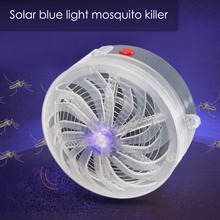 Solar kill Bug Mosquito Killer lamp 600mah battery Night Light Mosquito Trap For Home Outdoor Indoor Kill Fly Insect Bug Killer