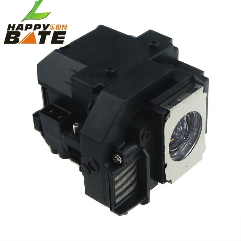 HAPPYBATE lámpara de proyector V13H010L54 para EB-S7 EB-S72 EB-S8 - Audio y video casero