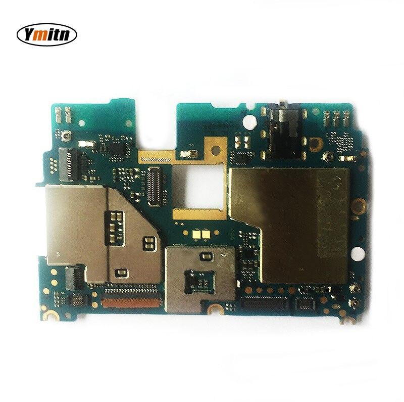 Ymitn Mobile panneau Électronique carte mère Carte Mère débloquée avec puces Circuits Pour Xiaomi RedMi hongmi NOTE4X NOTE 4X