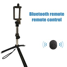 Wireless Bluetooth Selfie Stick Remote Shutter Mini Tripod Extendable Universal for iOS Android Phone