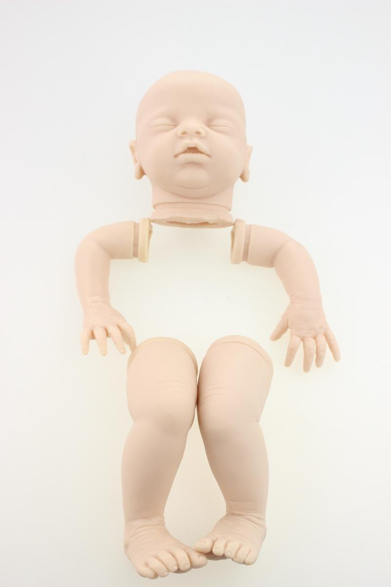 Silicone reborn baby doll mold 50cm creative lifelike handmade doll kits parts fashion toddler accessories legs arms and head 20inch baby kits dk 49 silicone reborn baby doll kit for dolls diy model toy lifelike handmade reborn doll kits accessories