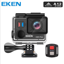 Original EKEN H9R Plus Action Camera Ultra HD 4K Ambarella A12 4k/30fps for Panasonic 34112 14MP 30M waterproof wifi sport Cam(China)