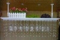 Топ Номинальная хрустальные бусины гладить винный шкаф бокал стойки настенный подстаканник винный шкаф 60 см (l) 35 см (Ш)