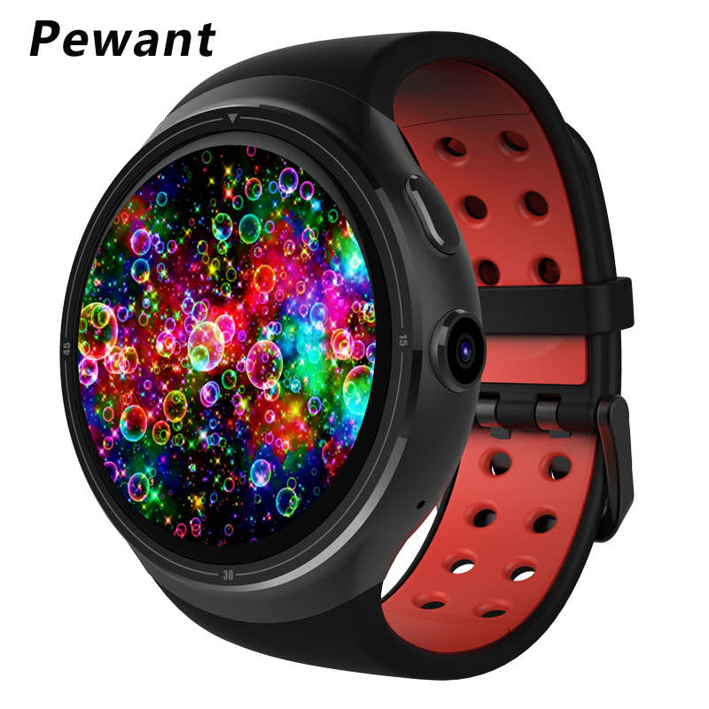 New Pewant Z10 Android 5.1 Smart Watch 1GB 16GB MTK6580 Quad Core 1.39 400*400 Smartwatch With WIFI GPS SIM For Android iOS