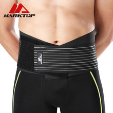 Men Waist Support Belt Women Breathable Protection Back Absorb Sweat Fitness Sport Protective Gear M5180