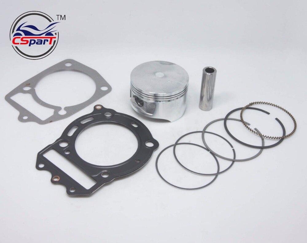 72MM Piston Ring Gasket Kit 250 250CC CF250 CN250 Jonway Kazuma Znen Cfmoto ATV Buggy Scooter Parts