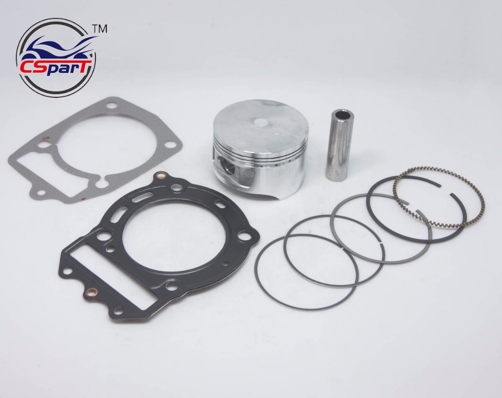 72MM Piston Ring Gasket Kit 250 250CC CF250 CN250 Jonway Kazuma Znen Cfmoto ATV Buggy Scooter Parts