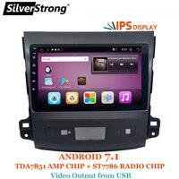 SilverStrong 9 дюймов ips матрица Android7.1 автомобильный DVD для Mitsubishi Outlander Android Радио RDS TPMS