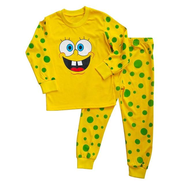 spongebob pajamas sleepwear kids pajamas pijamas kids baby children