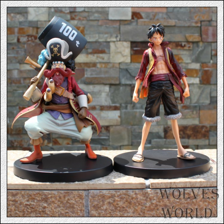 15-18cm One Piece 2pcs/Lot Usopp Sogeking Monkey D Luffy Action Figures Anime PVC brinquedos Collection Figures Christmas toys portable mini mp3 vibration speaker w fm usb tf remote controller black page 7