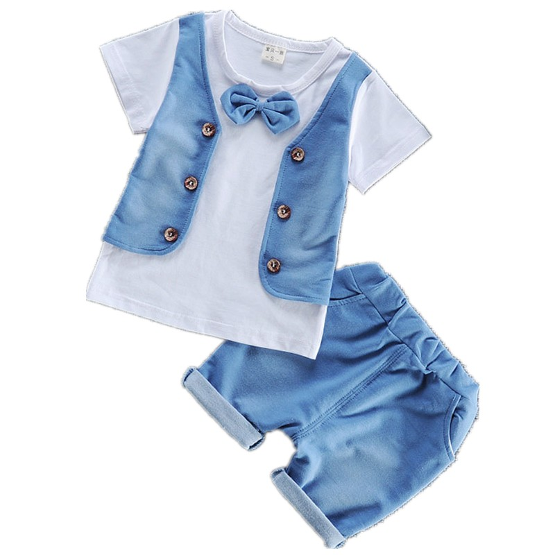 baby boy clothes free shipping 2017 summer new cotton