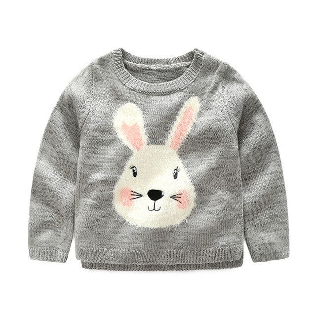 Big Cow Baby cotton sweaters for girls Winter infant pure cotton ...