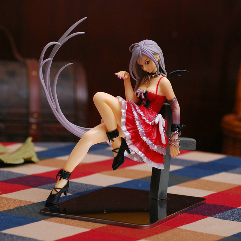 Japanese Anime Rosario And Vampire Moka Akashiya Awakened Ver. PVC Action Figure Anime Sexy Figures Sexy Girl Model Toys