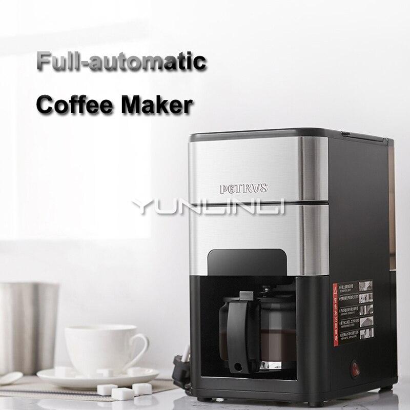 Full-automatic Coffee Maker Amercian Coffee Machine Coffee Bean Grinding Brewing Integrated Machine PE3900 bulk powder pure green coffee bean extract 50