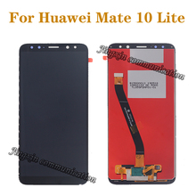 5.9 NEW LCD For Huawei Mate 10 Lite LCD + Touch Screen Digitizer Screen Glass Panel Kit for mate 10 lite Display Kits new lcd panel for dmf50174